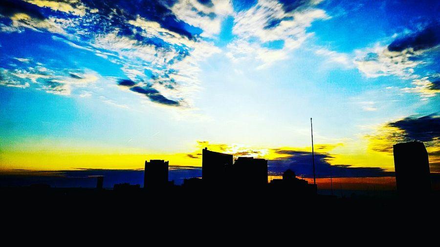 Atlantic City Sunset Claridge's Hotel