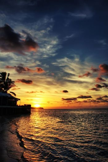 Calm Sunrise #sunset #sun #clouds #skylovers #sky #nature #beautifulinnature #naturalbeauty #photography #landscape Landscape_Collection EyeEm Best Shots