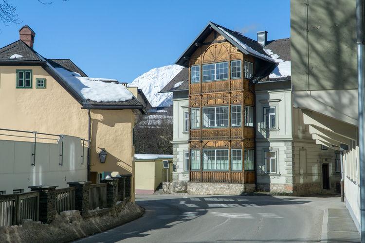 Winter Bad Aussee Grundlsee Steiermark Austria Cold Days