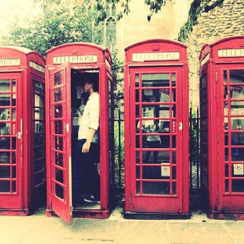 London England Pay Phone