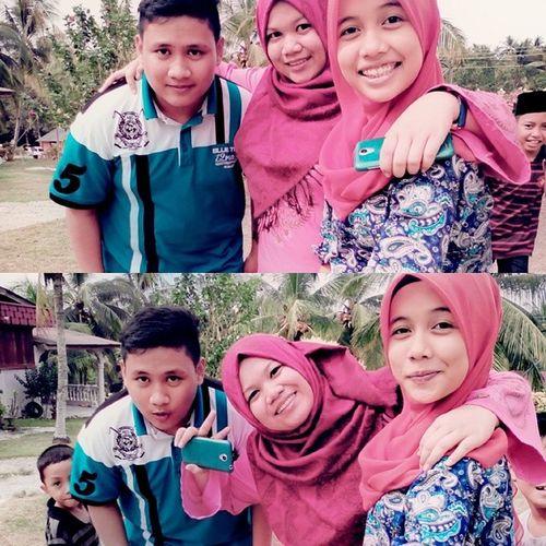 3syawal Sibling Cousin Pakngahhome happy besar2 pon duet raya still masyuk untung jd student kuakuakua