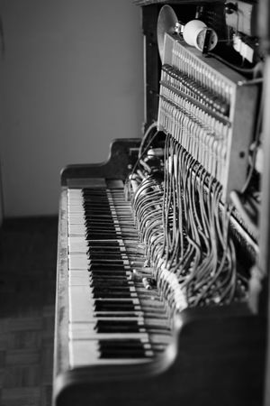 Arts Culture And Entertainment Close-up Day Indoors  Keyboard Music Musical Instrument No People Piano Piano Moments Vintage Vintage Piano Piano Moments