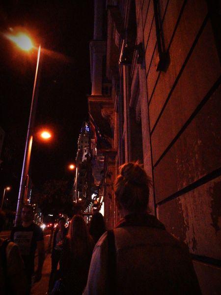 Night Illuminated Nightlife