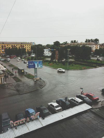 Это Усть - Каменогорск, Казахстан. Tourists Hello World Hi!