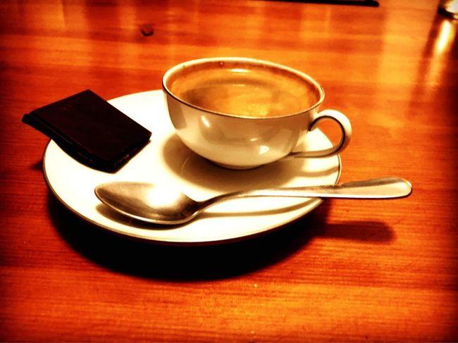 Zeit für Espresso. Time for espresso. Saucer Coffee - Drink Indoors  No People Day