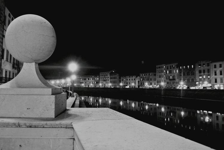 Pisacity Pisa, Italy Lungarni Lungarno River View River Arno River Night Nightshot Nightphotography Night View CityAtNight Cityatnighttime