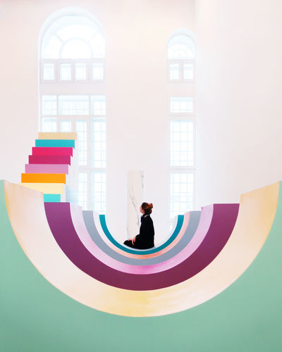 Architecture Childhood Day Full Length Indoors  Lifestyles Men Multi Colored One Person People Real People Young Adult
