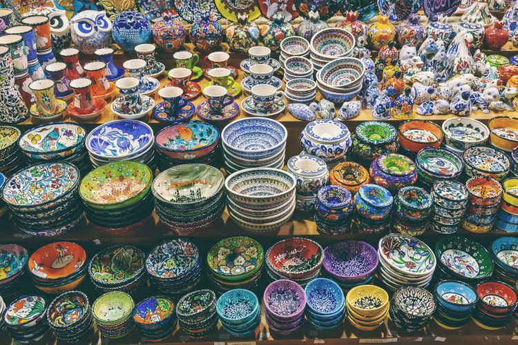 Art Bazar Bowl Ceramic Ceramic Art Ceramics Choice Colorfull Colors Craft Directly Above Dishes Grand Bazaar Grand Bazar Istanbul Handmade Istanbul Market Ornaments Poetry Shop Turkey Variation