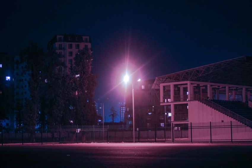City EyeEm Best Shots Hello World Lighthouse Night Lights Night Out Nightphotography Architecture Building Exterior Built Structure City Color Fog Illuminated Night Night Collection Night View Nightlife Nightshot No People Outdoors Sky Street Street Photography