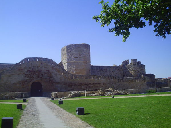 Zamora old travel Architecture Blue Building Exterior Built Structure Clear Sky Day Fortress Grass History Large Group Of People Outdoors People Real People Sky Tourism Travel Travel Destinations Zamora Zamora, Spain