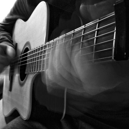 A Guitarist at