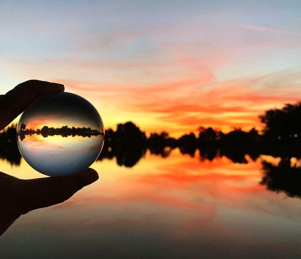 Twilight Twilight Fremont Lake Elizabeth Lensball Sunset Sky Reflection Cloud - Sky Lake Water
