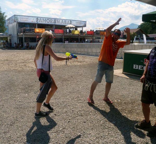 💦🔫 Chiemsee Fun Water Crazy Reggae Summer Dance Sun Hot Babe