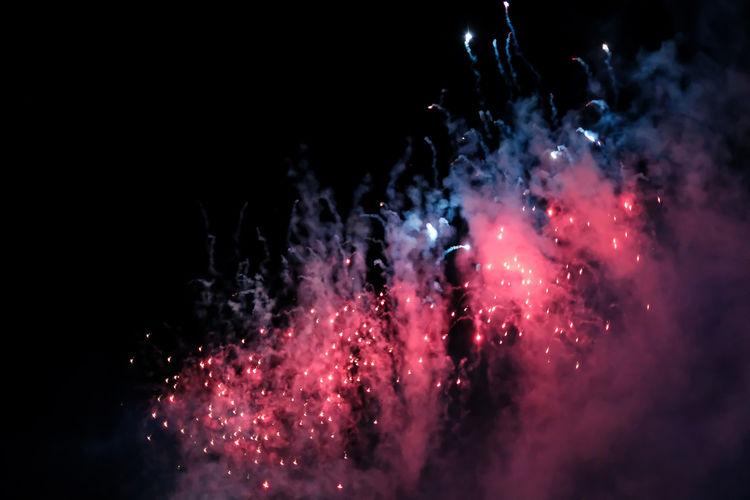 firework on