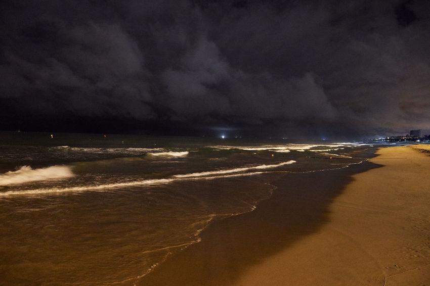 Vietnam Beach Beauty In Nature Cloud - Sky Danang, Vietnam Danangbeach Horizon Over Water Nature No People Sand Sea Shore Sky Storm Cloud Thunderstorm Tranquil Scene Water