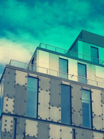 ToTheSky Liverpooluniversity Built Structure Architecture Sky Blue Outdoors