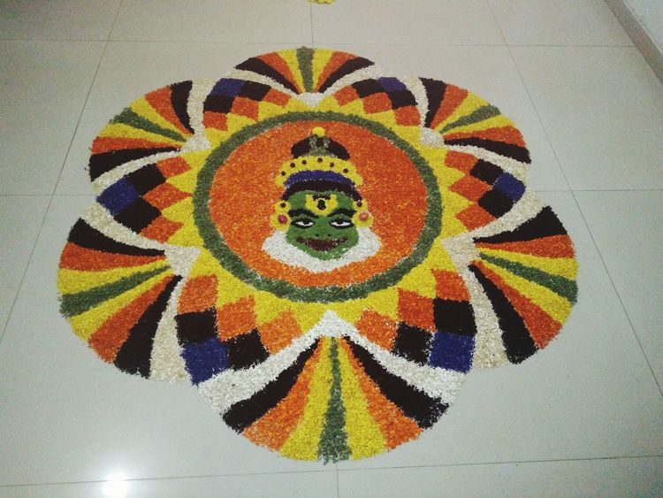 Kerala Kerala Art Form Kerala The Gods Own Country ;) Kerala Tradition Flowers Rangoli Flowers Beauty In NatureRangoli Kerala India Onamcelebrations Onamspecial Onamscenes Onam Onam 2016 Beautiful Colour Of Life Colors Colorful