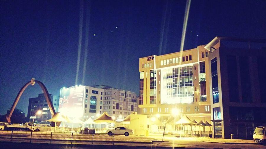 I ❤ Qatar Qatar2013 Nightphotography Road