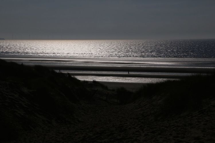 Formsby Beach Formsby Beach Liverpool Sea Water Scenics - Nature Horizon Sky Beauty In Nature Horizon Over Water No People Land Beach Tranquility Nature Tranquil Scene Idyllic Day Motion Non-urban Scene Outdoors Sand