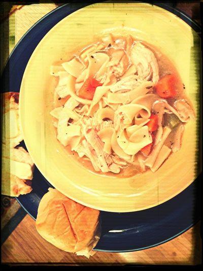 ☺ Homemade soup with grandma