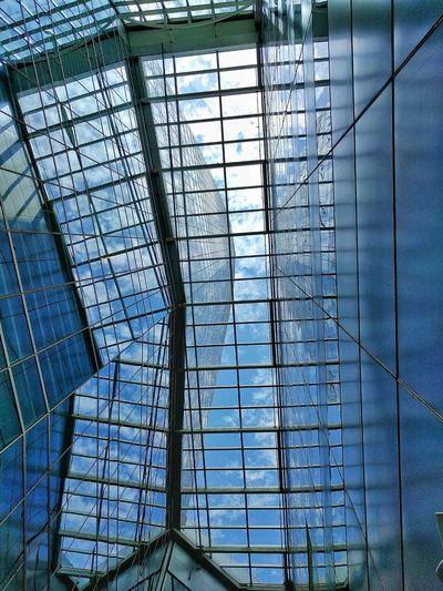 EyEmNewHere No People Sky Backgrounds Blue Structures & Lines Azul Estrutura Céu CeuAzul Ceu Azul Blue Sky Bluesky The Architect - 2017 EyeEm Awards The Architect - 2017 EyeEm Awards