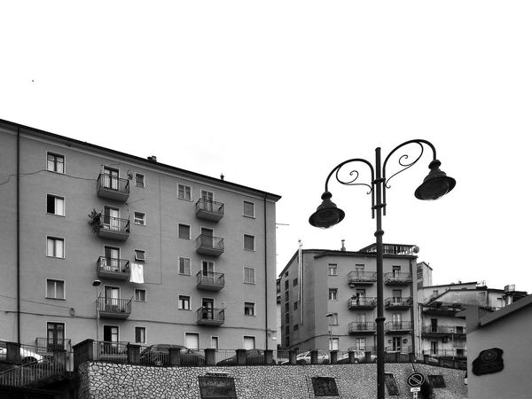 Residenzial buildings Black & White Italia Residential Buildings South Italy View Architecture Balcony Black And White Black And White Photography Building Exterior Built Structure Calabria City Glimpse Low Angle View Outdoors Residential Building Residential District Residential Structure Street Light Verbicaro