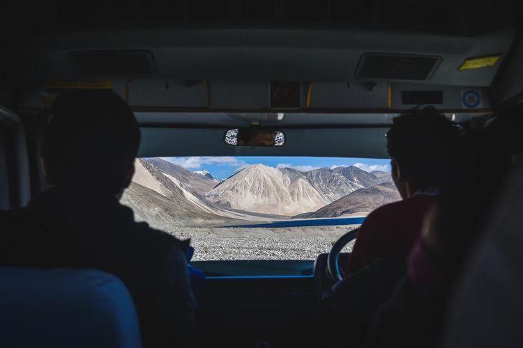 Leh Ladakh roadtrip. Himalayas India Ladakh Adventure Arid Climate Arid Landscape Car Driving Jammu And Kashmir Journey Land Vehicle Leh Leh Ladakh.. Lifestyles Mode Of Transportation Road Trip Roadtrip Snowcapped Mountain Transportation Travel Vehicle Interior My Best Travel Photo A New Beginning EyeEmNewHere