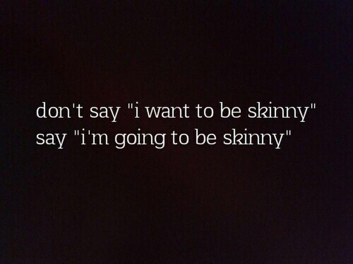 Skinny Wanttobeskinny Getting Skinny Motivation