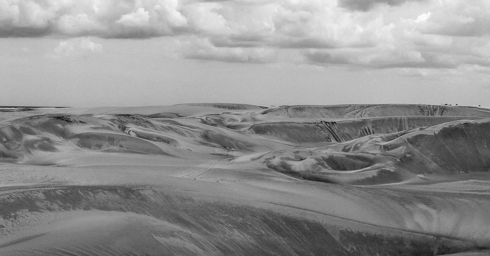 Beauty In Nature Blackandwhite Day Dunes Landscape Nature Outdoors Paradise Power In Nature Sand Sand Dune Sky