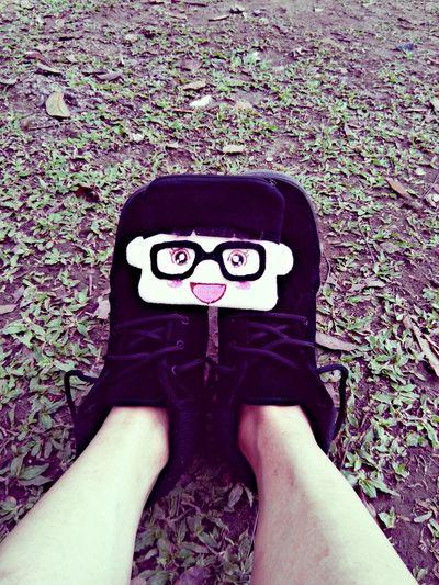 My cartoon coin purse version! Lol Shoes Coinpurse Grass Park Chllin Cute