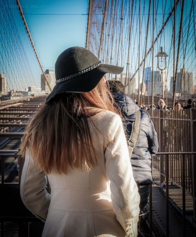 New York City Photos Streetphotography Brooklyn Bridge  New York City New York, New York New York Bridge Street Photography Urbanphotography Brooklyn Bridge / New York New York ❤ Architecture Brooklyn Color Colors Womanportrait Portraits Woman Portrait Woman The Street Photographer - 2017 EyeEm Awards The Street Photographer - 2018 EyeEm Awards The Street Photographer - 2018 EyeEm Awards