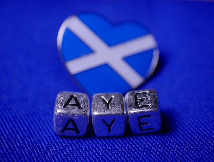 """""""Aye"""" to"""