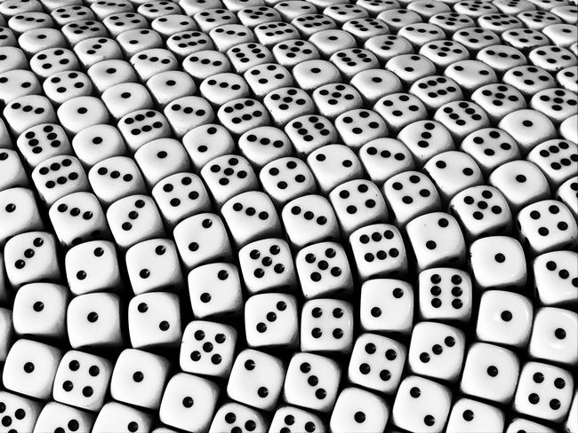 Gamble Dice Luck Lucky Fortune Gambling Pattern Blackandwhite Black And White Black & White Gaming Numbers