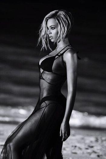 Beyonce Love Beyoncé Hot Blackandwhite Beachphotography Photoshoot