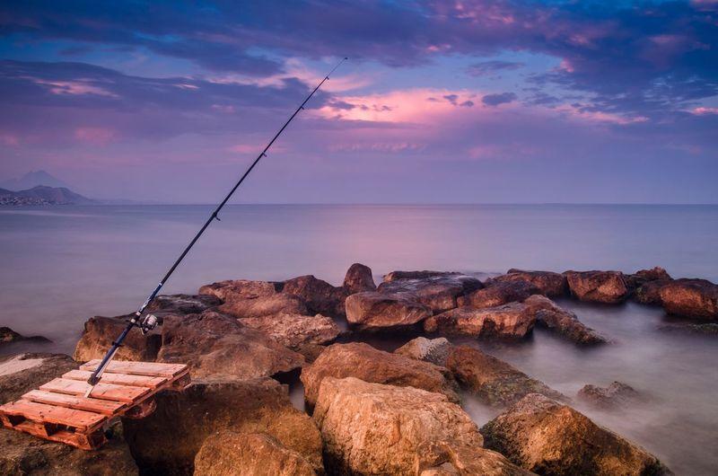 EyeEm Best Shots Clouds And Sky Beautiful Beach Landscape EyeEm Nature Lover Enjoying Life Fishing