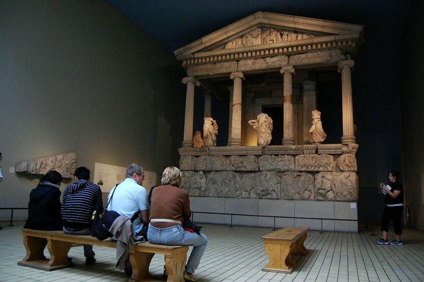 British Museum London Britishmuseum Visitors Tourism Adult
