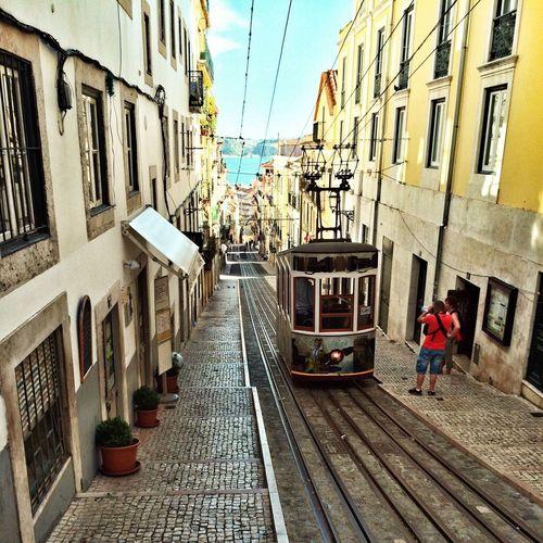 Travel Lisbon Portugal Public Transport Tramway Cityview Португалия лиссабон путешествие городской вид общественный транспорт Трамвай