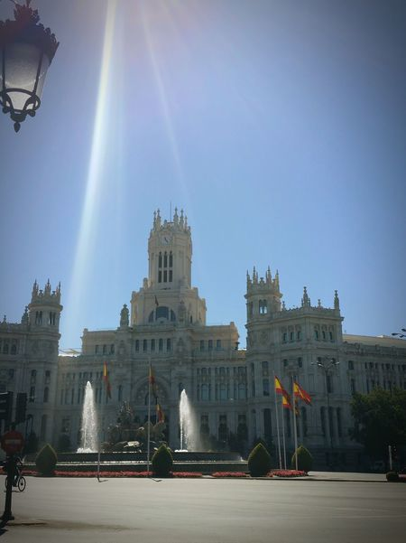 Madrid Popular Photos My First Pic On EyeEm Taking Photos Square Plaza De Cibeles Madrid Madrid Spain