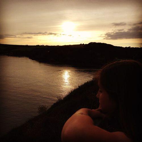 Cornwall Polruan Sunset Sunset Silhouettes Malephotographerofthemonth Beautiful Nature Naturelovers EyeEm Nature Lover