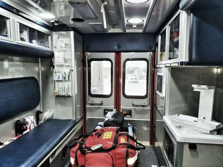 Paramedic Firefighters Paramedic Training Vehicle Interior Ambulance EMS Mansfield Tx Mansfield Fire Department My Favorite Place