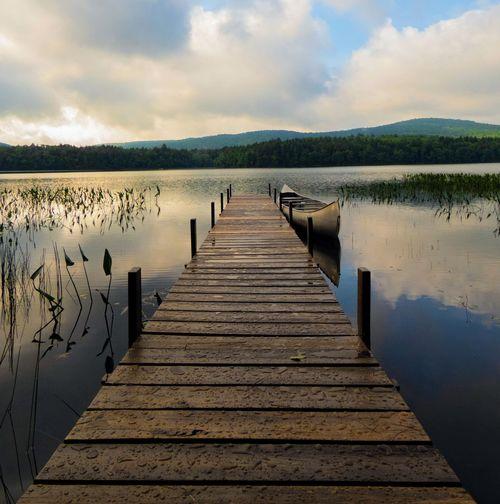 Docked Lake