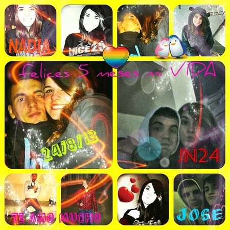 ella el amor de mi vida,sin ti no podria vivir,te amo mi vida Love El Amor De Mi Vida Siempre Juntos Hi!