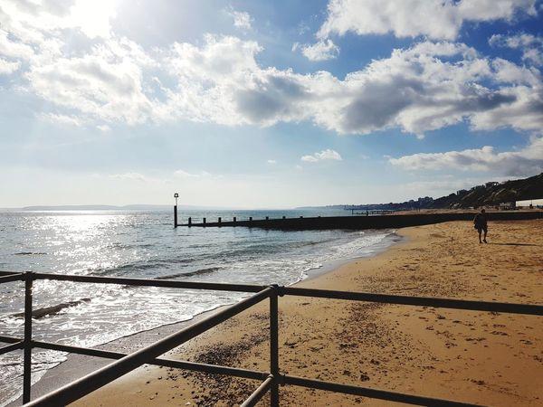 Beach Beach Life EyeEm Selects Boscombe Pier  Bournemouth Water Sea Beach Sand Summer Sky Horizon Over Water Cloud - Sky
