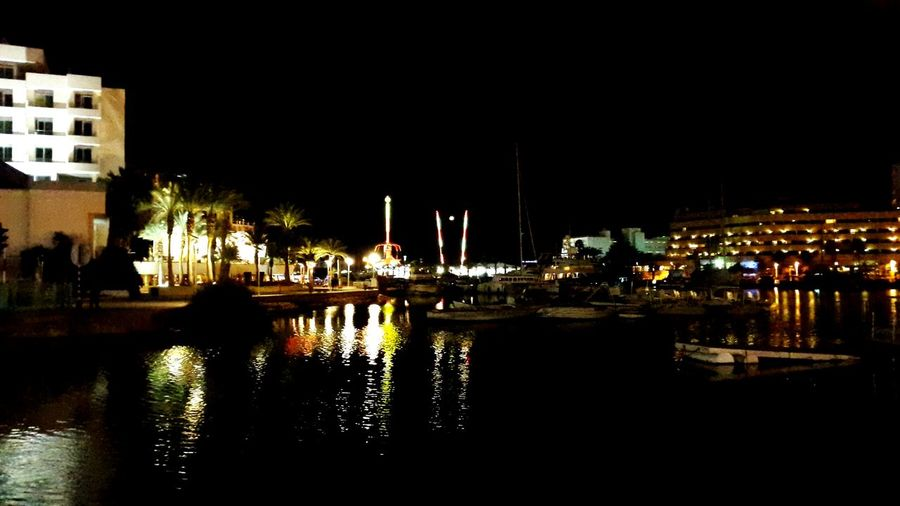 Enjoying Life Water Night Romantic