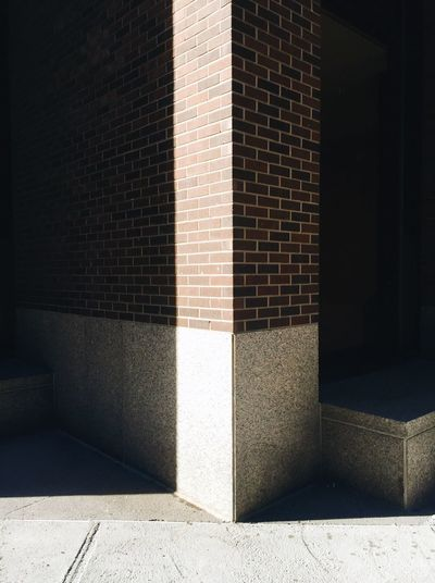 Shadow of building