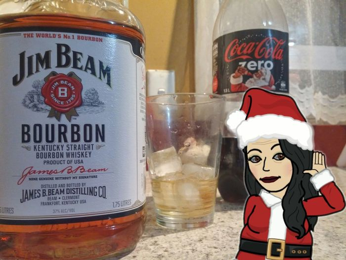 😄👍whats that you say? Bourbon O'clock 🎅well if the Jolly Fat Man🎅 is gettin in on the Action .... It be Rude Not To..😂😂 Cheers 🍻 My Friends 😄👍join me in the Bitmoji Series On EE show us all your Bitmoji 😉 Selfie ✌ Only Women Adults Only Santas Nice List🎅🎁😄👍 Food And Drink Season Greetings Good Morning! Why Not I Deserve This Bourbon Whiskey Coke Bottle Naughty Santa🎅 Ho Ho Ho🎅 Merry 😄 Christmas🎁🎅 Those Tags Tho😂 Lmfao😄👍