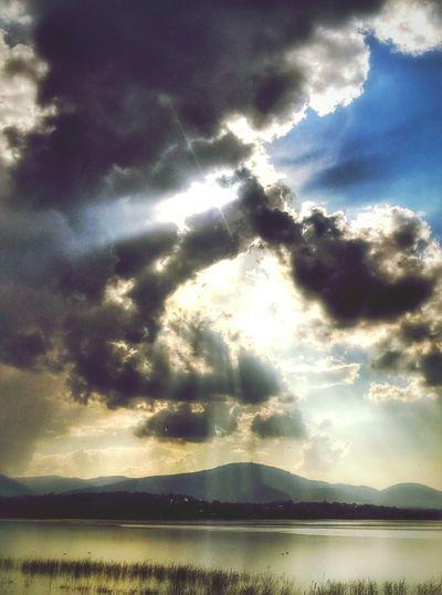 Hi! Jezioro żywieckie Skrzyczne Lake żywieckie Mountain Skrzyczne Clouds & Sky Clouds And Sky LGG3 Sky And Clouds Beskidżywiecki Lgg3shot LGg3photography Sky Clouds Capture The Moment