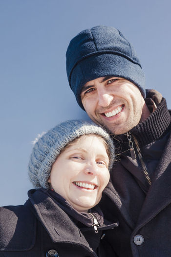 Young woman leaning on man's shoulder in winter against sky – Herten, Germany Couple - Relationship Couple Mid Adult Couple Young Couple Candid Toothy Smile Cheerful Love Romance Relaxing Resting Shoulder Leaning Standing Vacations Waist Up Head And Shoulders Beard Beautiful People Caucasian Germany Close-up Portrait Coat Confidence  Face Faces Of EyeEm Human Face Handsome Happy Beenie Loving Enjoying Life Heterosexual Couple Satisfaction Content Blue Sky Low Angle View Trust Smile Wool Woolen Jacket Winter Vacation Mid Adult Young Adult Winter Smiling Warm Clothing Men Two People Clothing Togetherness Males  Headshot Happiness Looking At Camera Cold Temperature Hat Emotion Adult Knit Hat Bonding Lifestyles Front View Positive Emotion The Portraitist - 2019 EyeEm Awards