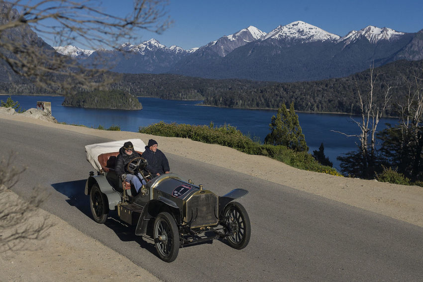 1000 miles sport 1000milechallenge Adult Argentina Argentina Photography Argentino Bariloche Citytour Bariloche, Argentina Barioche Circuitochico Classic Classic Car Driving Lake LlaoLlaoHotel Men Motorcycle Mountain Nature Only Men Outdoors People Sitting Transportation Two People Water