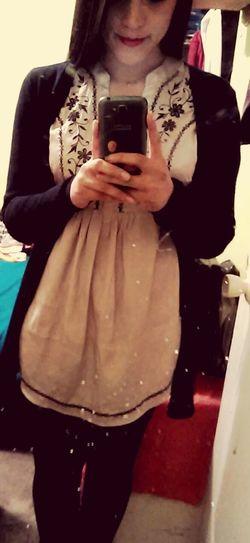 Today's Hot Look Mirrorselfie Dreess Girl Sunday :)